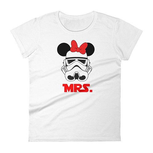 Mrs Stormtrooper Minnie ears matching t-shirts digital download