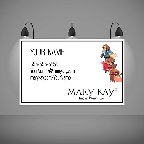 Mary Kay banner personalized
