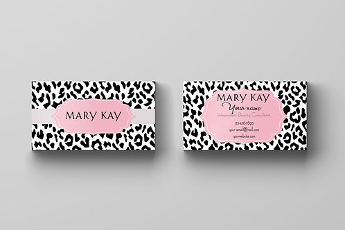Mary Kay business animal print