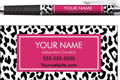 Perfectly Posh business pen Animal print