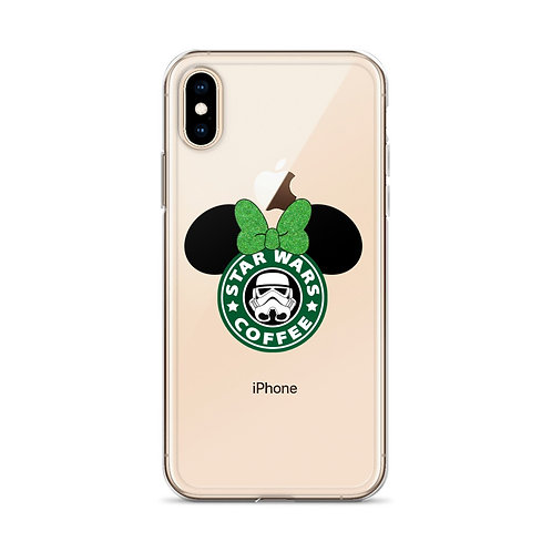 Star Wars Coffe Minnie ears Iphone X case
