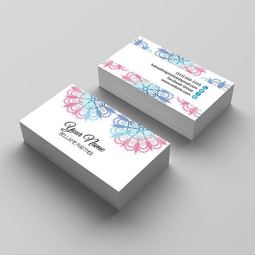 Bellame partner business card