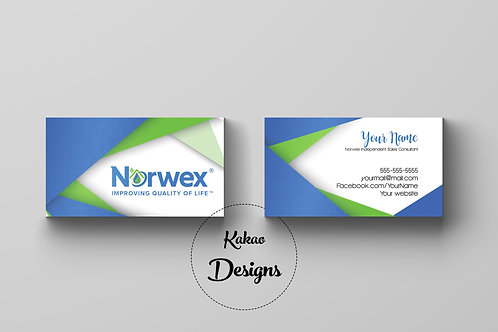 Norwex business card