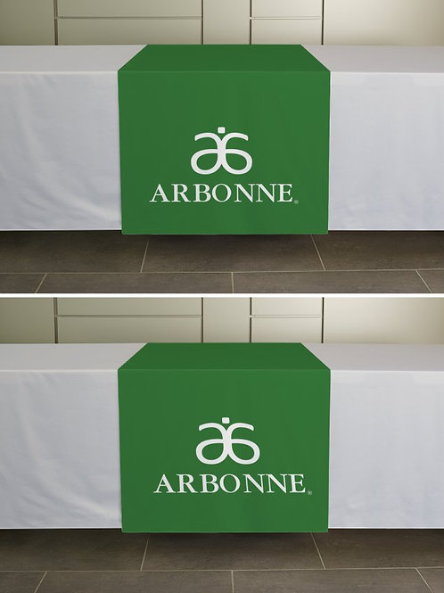 Arbonne table runner green