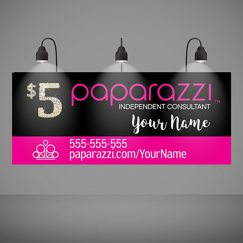 Paparazzi Accessories Banner Vendor Show