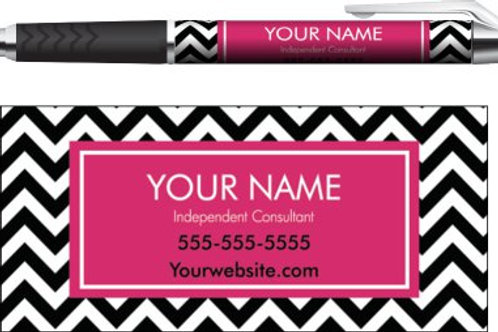 Perfectly Posh business pen chevron