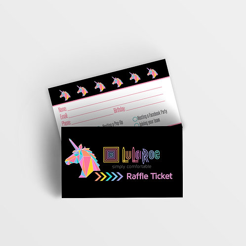 Lularoe raffle ticket unicorn