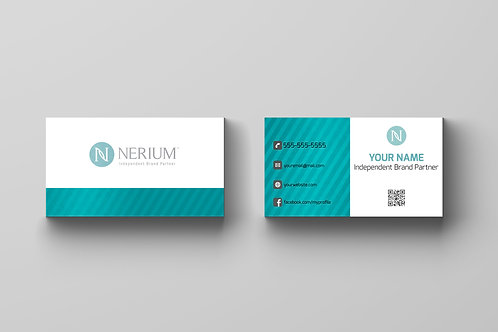 Nerium skin care business card