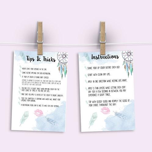Lipsense Tips & Tricks and Instructions - Boho