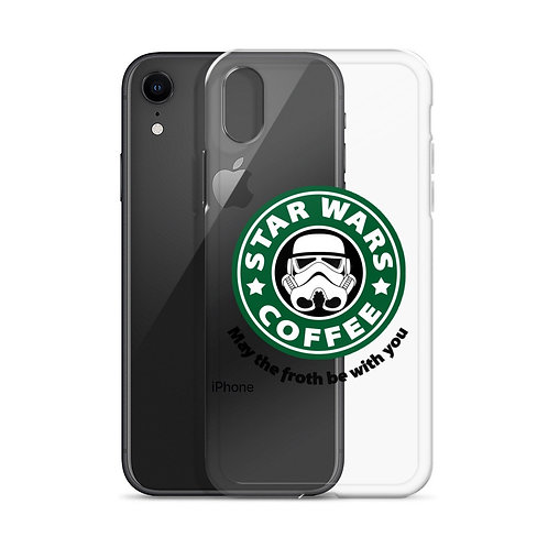 Star Wars Coffee May the froth be with you Iphone X case