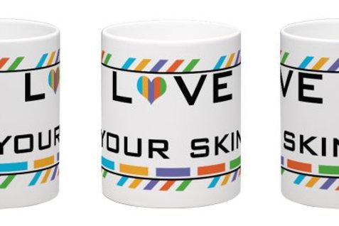 Love your skin mug