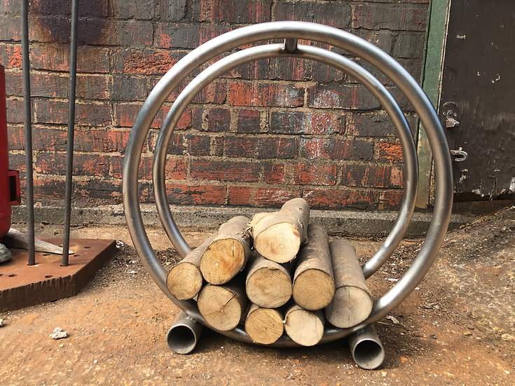 Stainless Steel Log Cradle