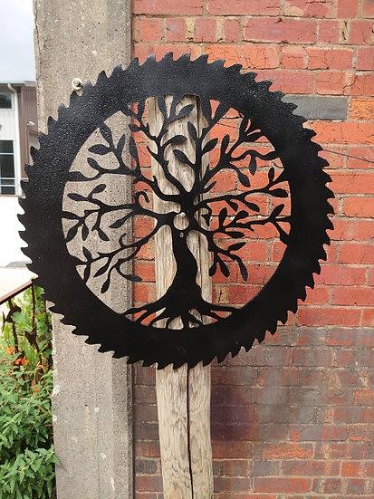 Saw Blade Tree Of Life