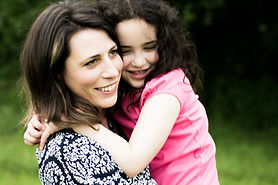Liz Murray and her daughter
