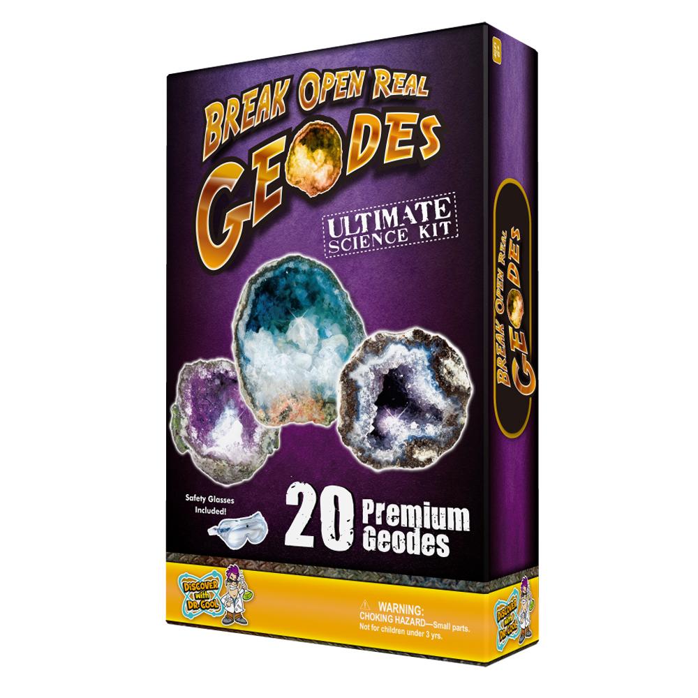 Break Open 20 Geodes Box