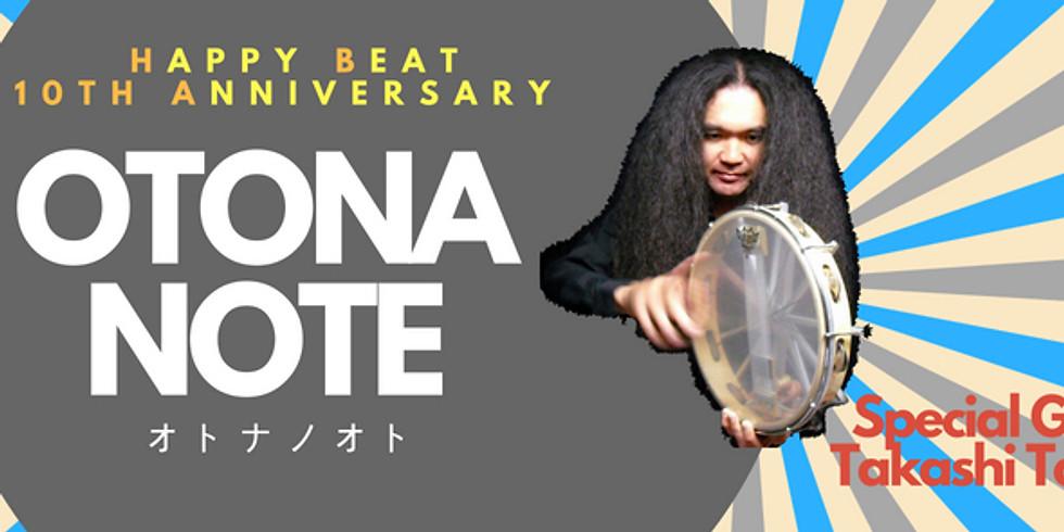 Happy Beat 10周年記念イベント OTONANOTE~オトナノオト~