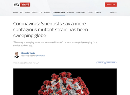 FACT CHECK: Is a new mutation making the COVID-19 virus more contagious?