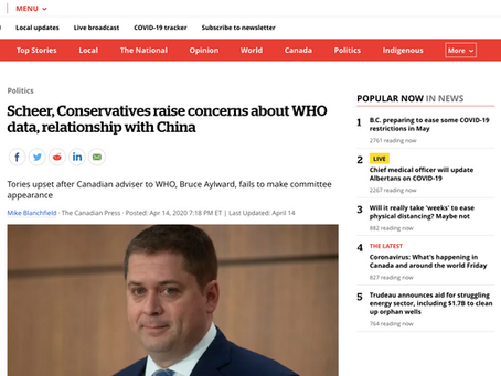 FACT CHECK: Did following the World Health Organization's advice hurt Canada's COVID-19 response?