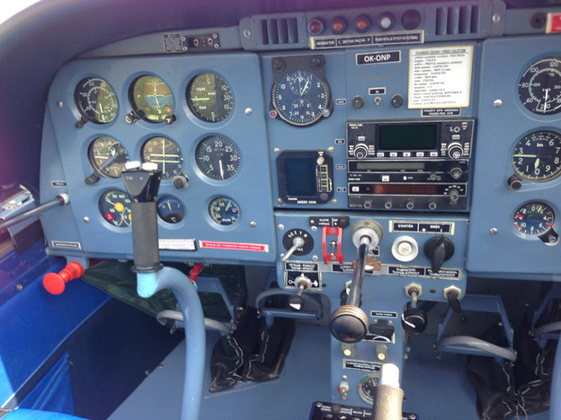 Zlin 142 Cockpit