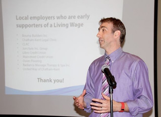 Prosperity Roundtable recognizes businesses for living wage support
