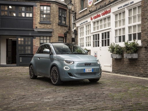 FIAT EASES ELECTRIC RANGE ANXIETY WITH NEW TECHNOLOGY IN FIAT-500e