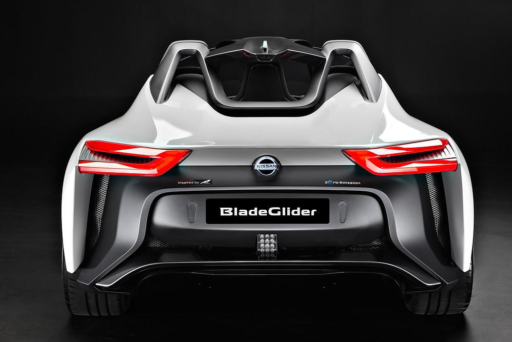 Nissan BladeGlider rear view