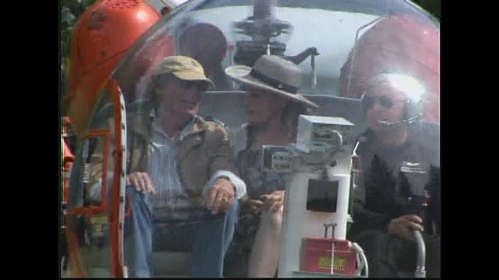 Adam West & Julie Newmar Batcopter