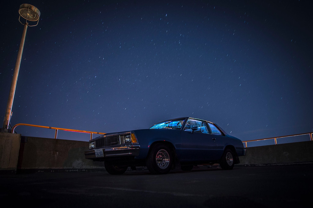 1981 Chevy Malibu Night Pictures