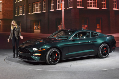 Ford Mustang Bullitt makes anticipated debut at Detroit Auto Show
