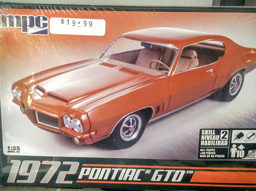 1972 Pontiac GTO 1/25th Scale