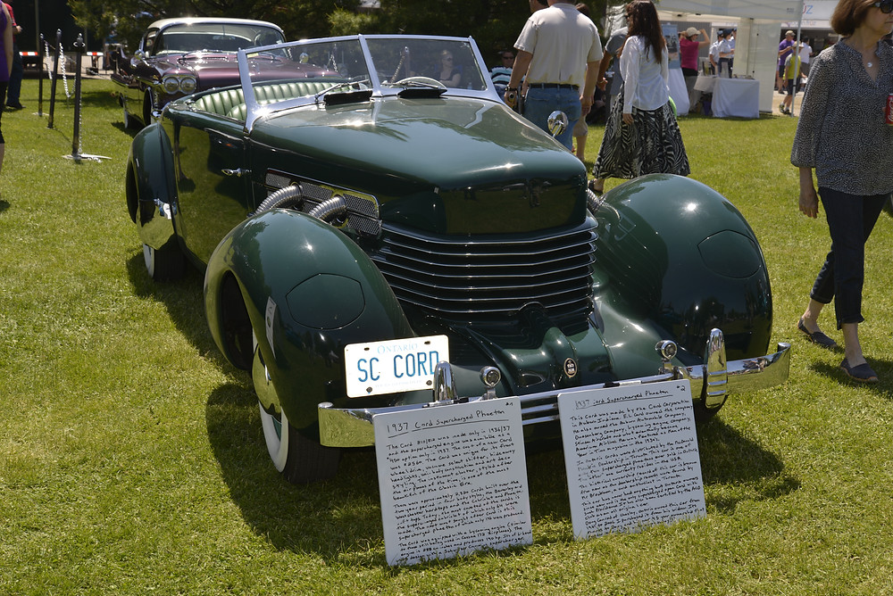 1937 Cord at the Fleetwood Country Cruize In - SST Archives