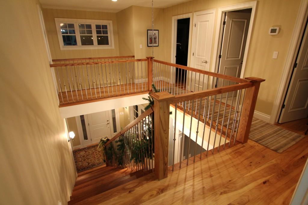 CUSTOM HOME STAIRS, HARDWOOD