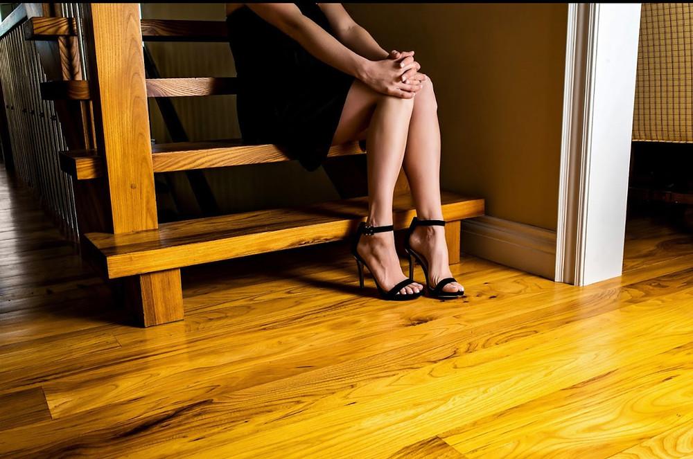"Owen Flooring ""Legs"" Campaign Image"