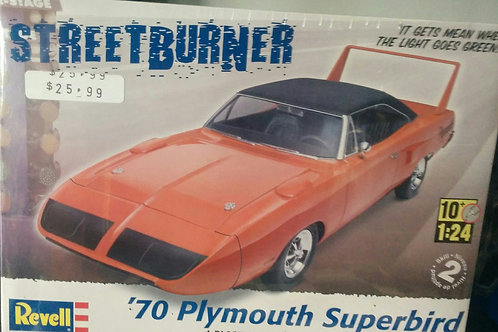 70' Plymouth Superbird 1/24th Scale