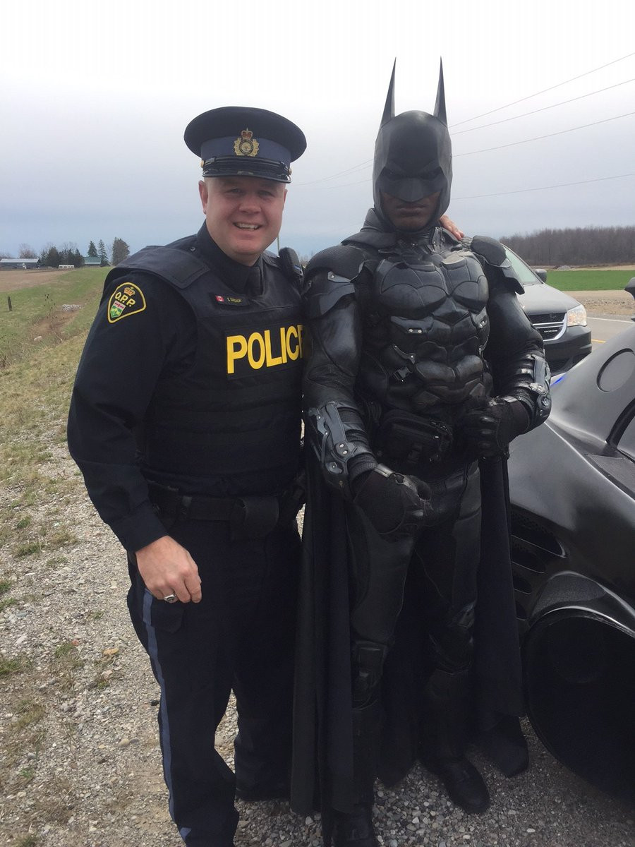 SIMCOE OPP WITH BATMAN