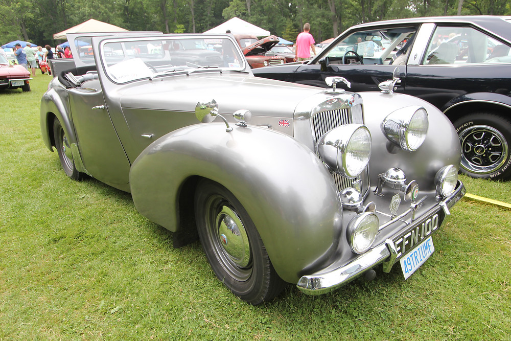 1949 Triumph: at the Sarnia Street Machines Car Show