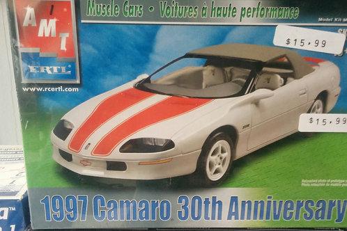 1997 Camaro 30th Anniversary 1/25th Scale
