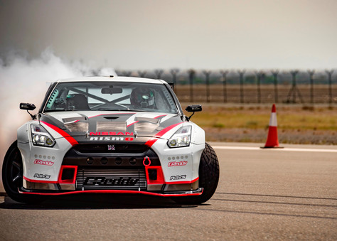 Nissan GT-R Sets New World Drift Record!