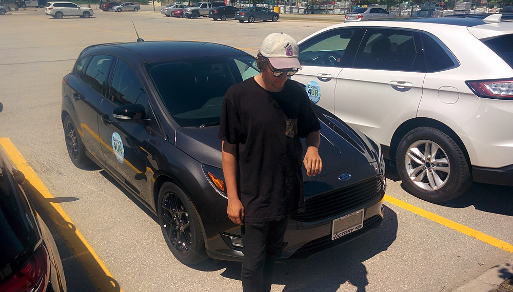 After the test drive - New Ford Focus - Ryan Walker SST Car Show
