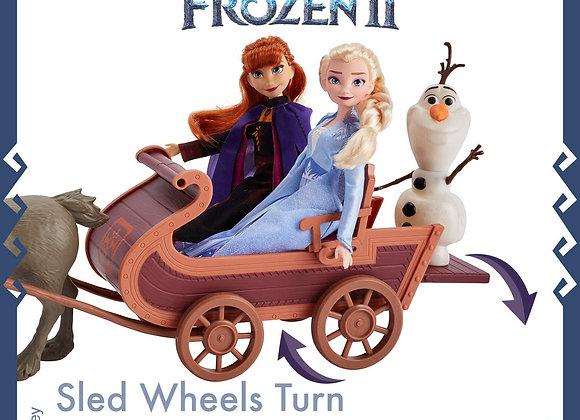 Frozen II Sledding Adventure