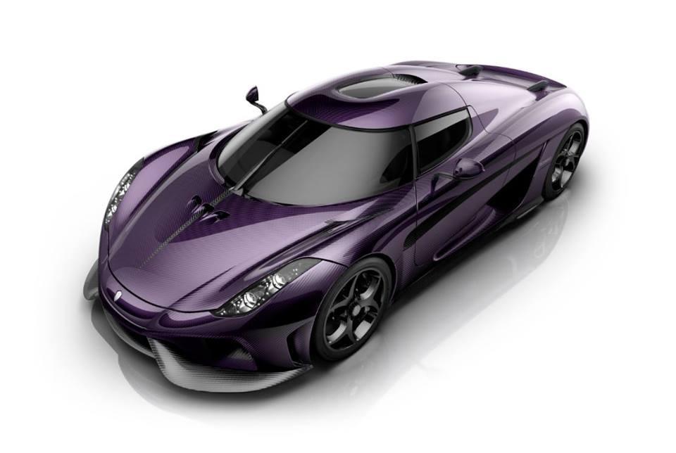Prince Tribute Car from Koenigsegg