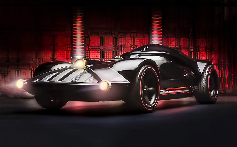 Darth Vader Hot Wheels Car - CIAS