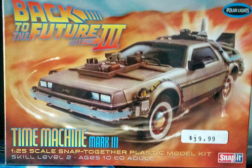 Back to the Future Time Machine Mark lll 1/25th
