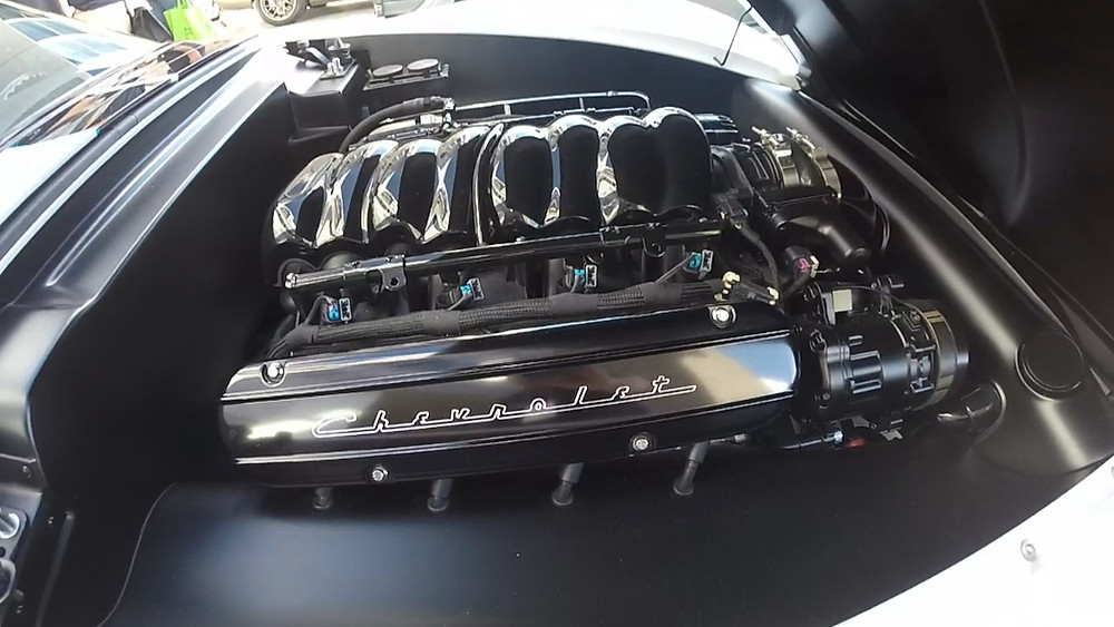 1972 Corvette Engine