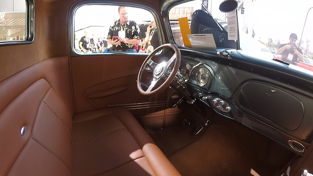 1937 Ford Pickup Interior