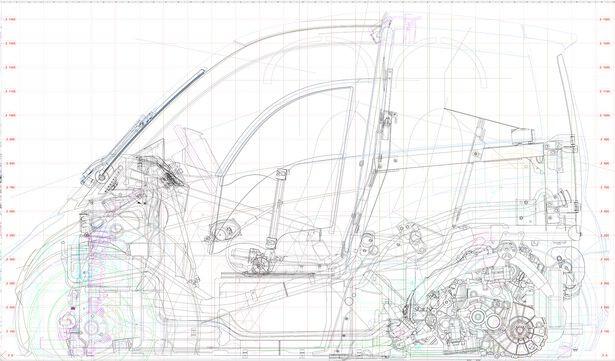 Hyper Efficient Sheel Concept Car Design
