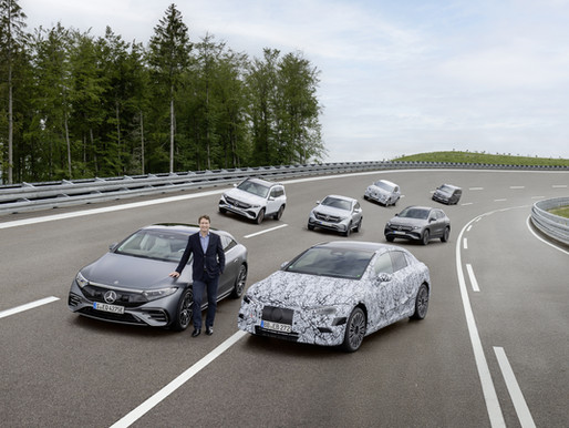 MERCEDES BENZ READY TO MAKE ALL ELECTRIC FUTURE HAPPEN