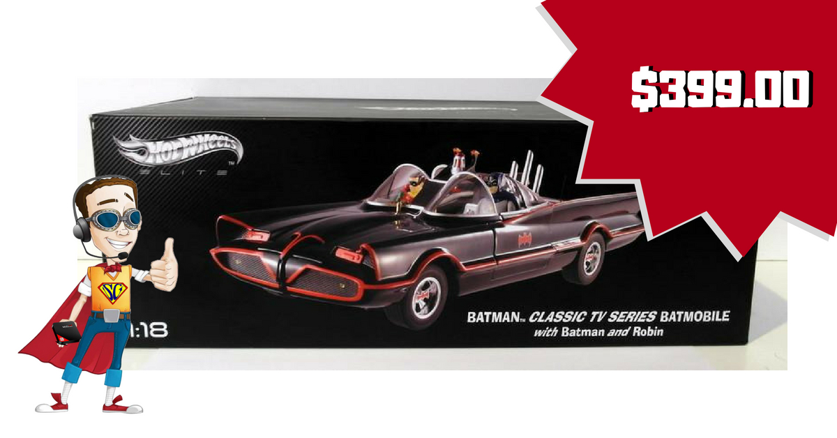 Hotwheels Elite Batmobile