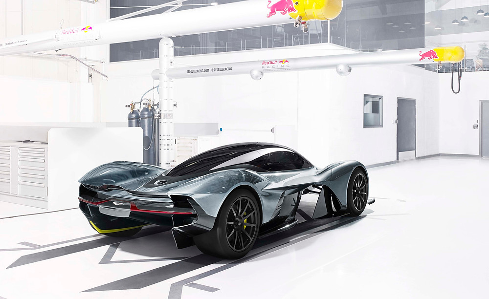 New Aston Martin / Red Bull Hypercar will be built on a carbon fibre chassis.