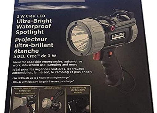 Motomaster Eliminator Waterproof Spotlight